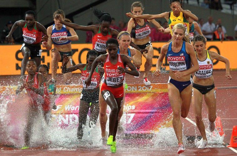Emma Coburn, Campionatul Mondial 2017, foto: Marian Burlacu, Londra