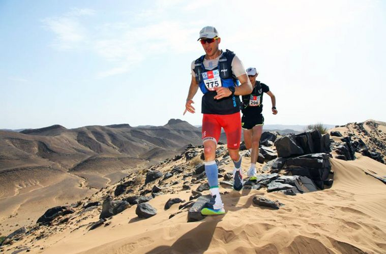Thomas Evans, Marathon des Sables