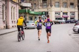 Alexandru Corneschi și Marius Ionescu, la SportGuru Timișoara 21k / foto: SportGuru.ro
