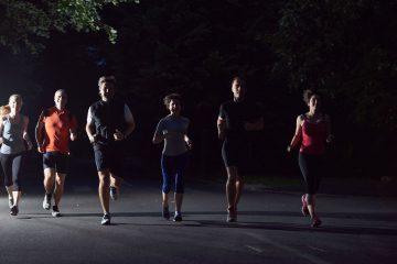 Alergare noaptea! Alergare seara!