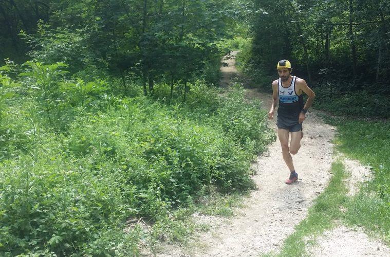 Ionuț Zincă, antrenament Campionatul Mondial Alergare Montana Lunga Distanta
