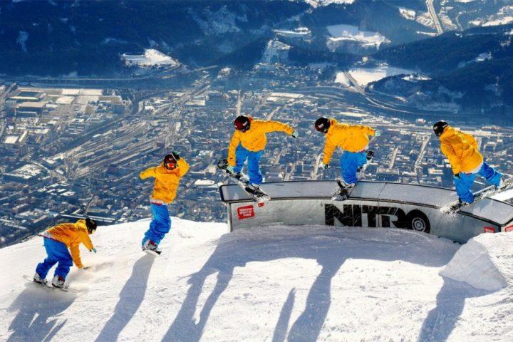 Magie pe snowboard