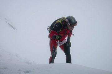 Viorel Pălici, proba Vertical la schi alpinism