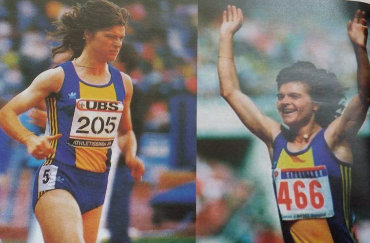 Paula Ivan, scan Istoria Atletismului Românesc