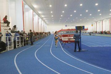 Antonia Mariș, la Campionatul Municipal de Sală