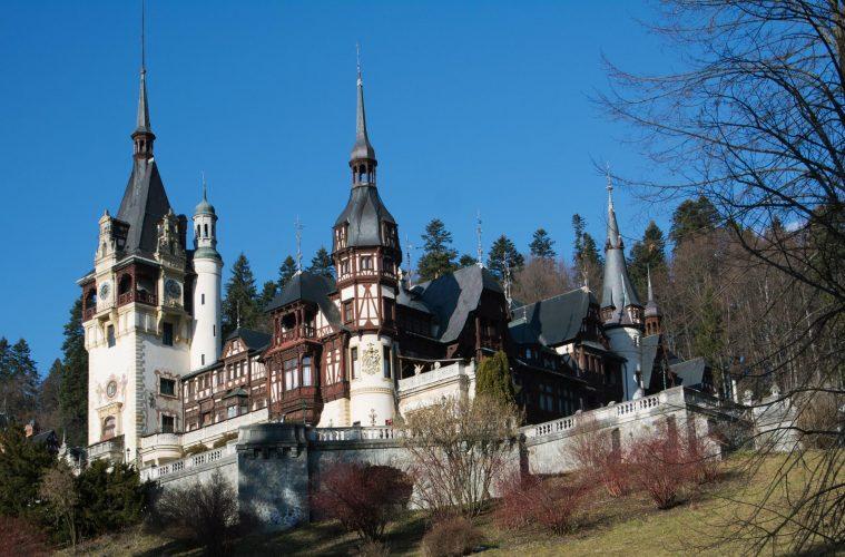 Sinaia, castelul Peleș / foto: Andra Panduru