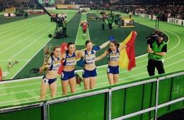 Ștafeta de bronz, Mirela Lavric, Adelina Pastor, Bianca Răzor, Andreea Miklos