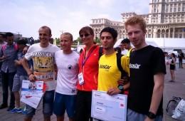 Valeria Răcilă, alături de Marius Bușcă, Marius Ionescu și Emanuel Trandafir