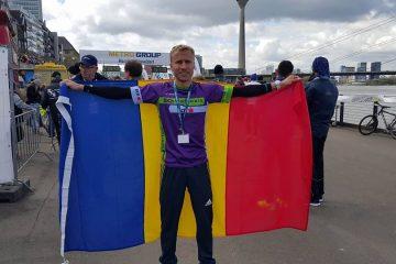 Marius Ionescu, steag România