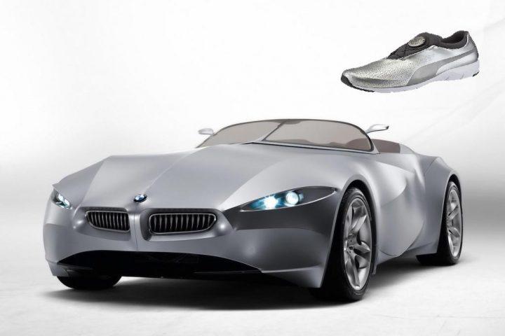 BMW și Puma, pantofi de alergare