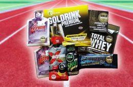 Kit de cursă de la GoldNutrition