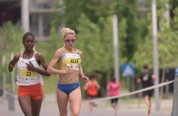 Ancuța Bobocel la Semimaratonul București /// foto: Andra Panduru