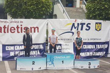 Ancuța Bobocel, campioană națională semimaraton 2017