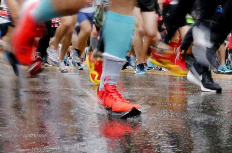 alergare ploaie